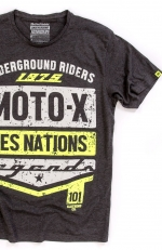 NATIONS 75 tee fluo