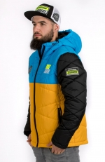 DEFROST 19 Jacket blue-yell