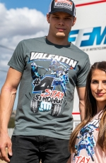 STRONG VALENTIN Tee grey