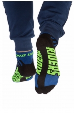ROCK SOCKS bluefluo