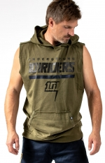 ATHLETE SLEEVELESS HOODY
